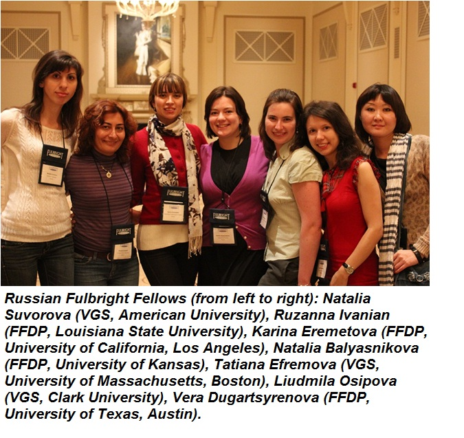 Russian Fulbright Fellows